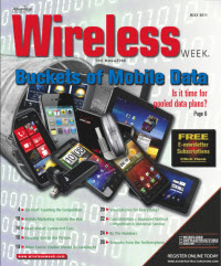 Wireless Week Magazine Cover