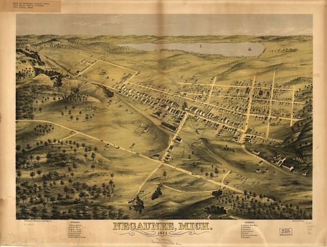 Negaunee, Michigan 1871
