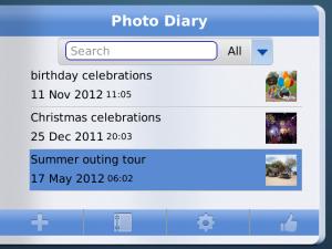 Photo Diary with BBM v1.0 BlackBerry