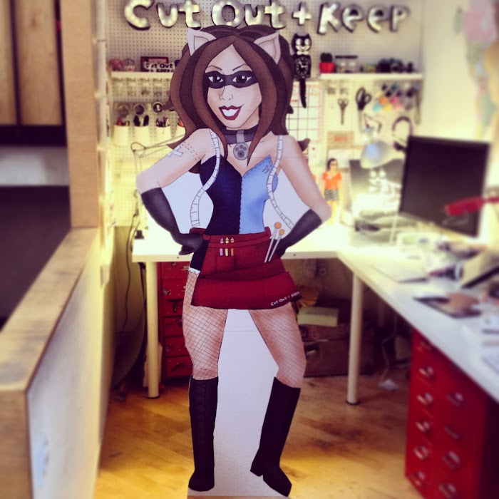 Crafterella Cardboard Cut-Out