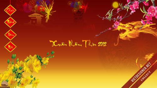 Bộ hình nền dành riêng cho Tết Nhâm Thìn 2012