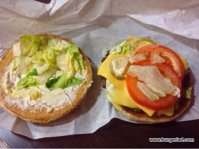 Burger King Quattro Cheese Whopper