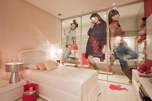 DORMITORIO DE JOVENCITA QUARTO DA MENINA Dormitorios  ~ Como Fazer Um Quarto Rosa Habblive