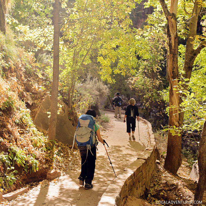 15 Best Hikes in Zion National Park Utah Zion National Park Topo Map on