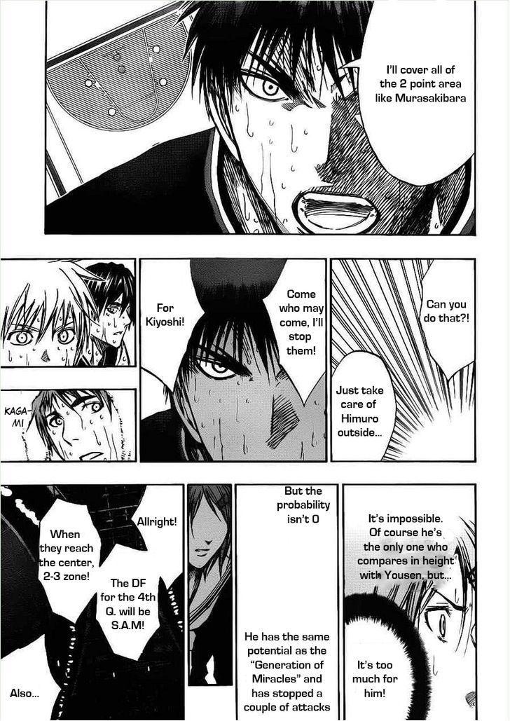 Kuroko no Basket Manga Chapter 160 - Image 11
