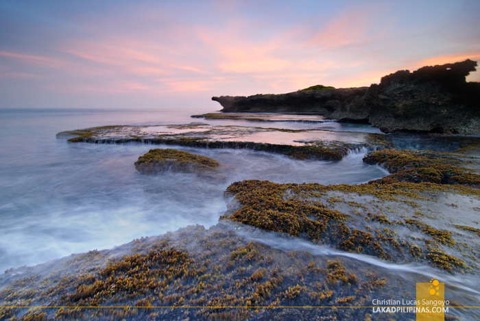 Sunrise at Patar Beach in Bolinao