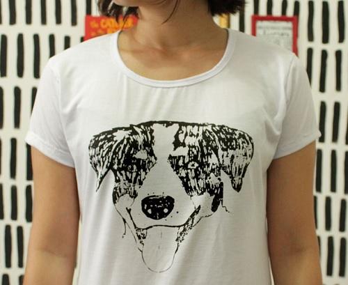 Inspiração cachorros - camiseta