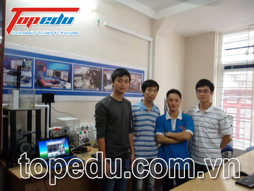 TopEdu tư vấn hỗ trợ đồ án cho nhóm sinh viên Tự động hoá K52 ĐHBKHN