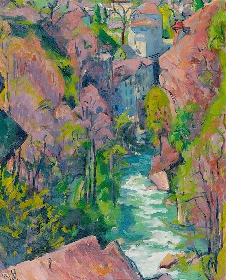 Giovanni Giacometti - Il mulino. 1916