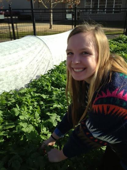 Jessica Robertson, Coordinator of Education and Garden Training