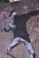 War Banksy hier?
