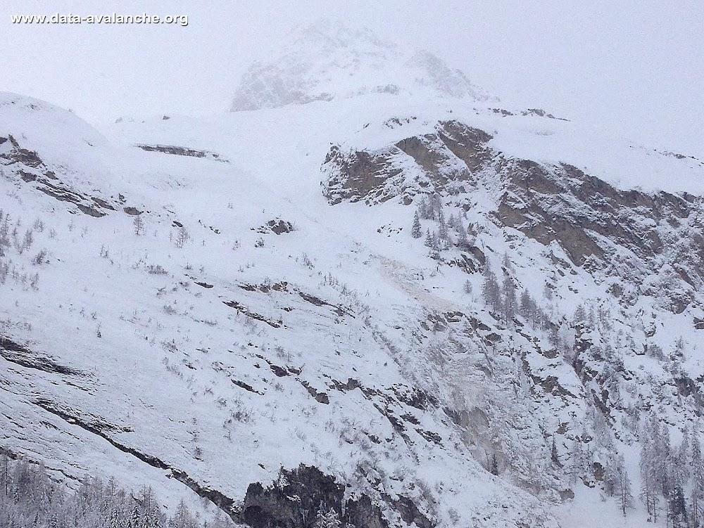 Avalanche Haute Tarentaise, secteur Tignes, Mont Pourri - Rocher Blanc - RD 902 - Photo 1