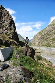 Kavkaz, par km od Rusko - Gruzijske granice