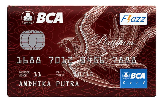 BCA Card Platinum Motif Batik
