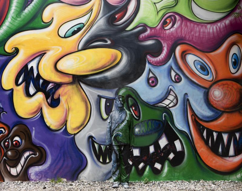 *貨真價實的隱形人:中國藝術家劉勃麟(Liu Bolin)隱形系列攝影作品! 14