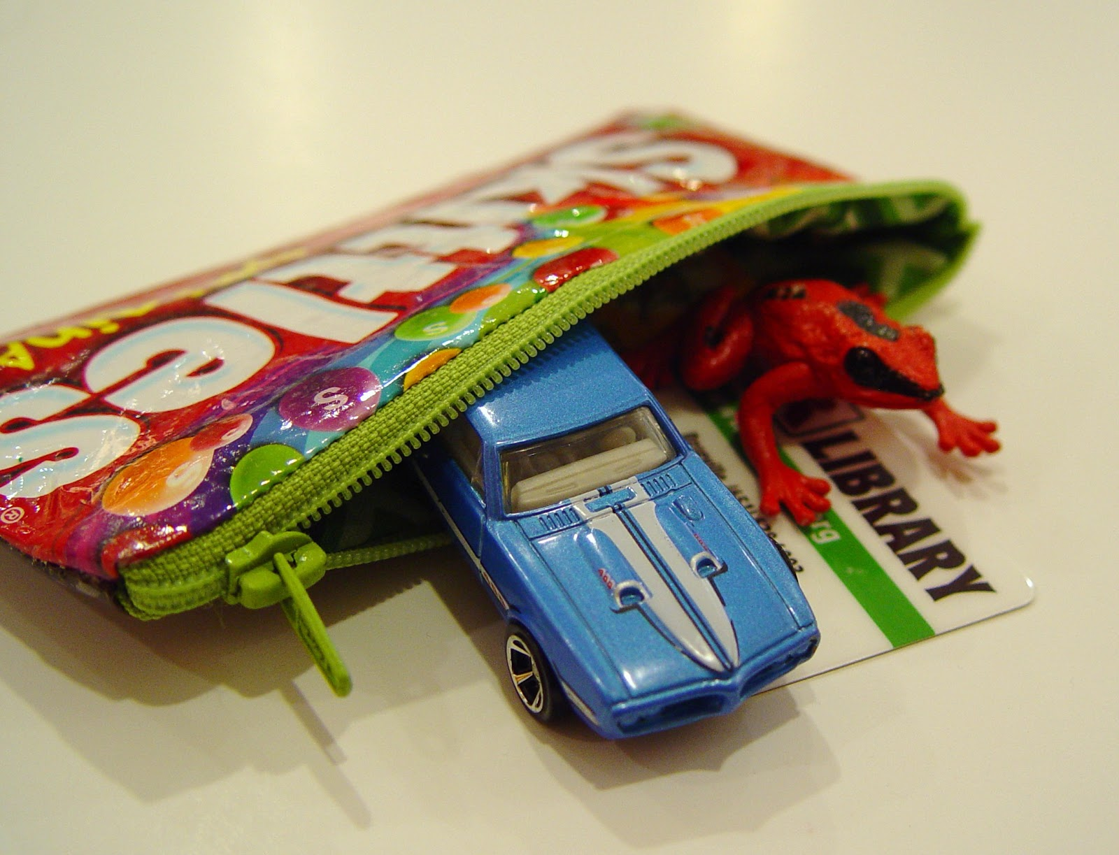 Candy Wrapper Pouch Tutorial Guest Post From Punkin