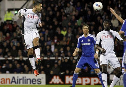 Clint Dempsey, Fulham - Chelsea