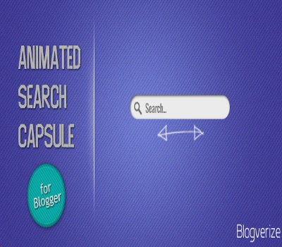 How to Add An Animated Search Capsule