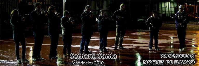 LAS BANDAS EN SUS ENSAYOS NOCTURNOS = 498 FOTOS