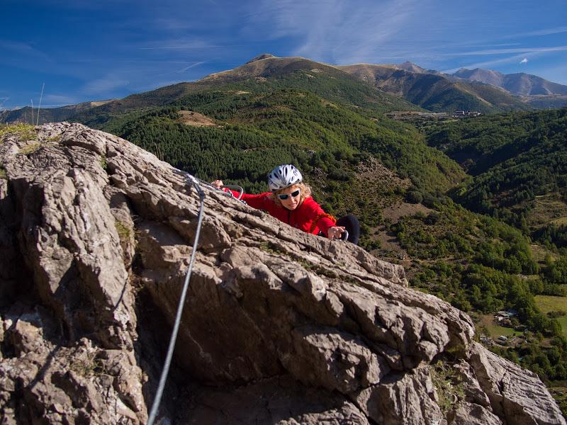 Final del segon tram, amb vistes cap a la vall de Boí