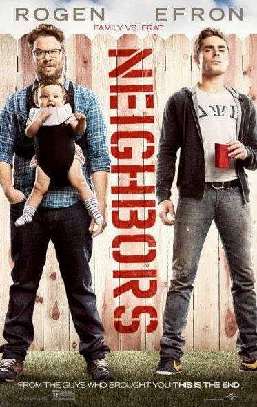 Poster Of English Movie Neighbors (2014) Free Download Full New Hollywood Movie Watch Online At alldownloads4u.com