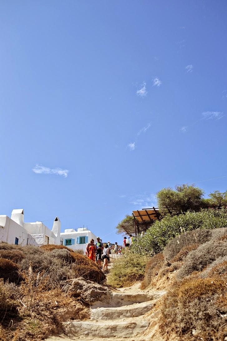 Best Beaches in Mykonos Greece.