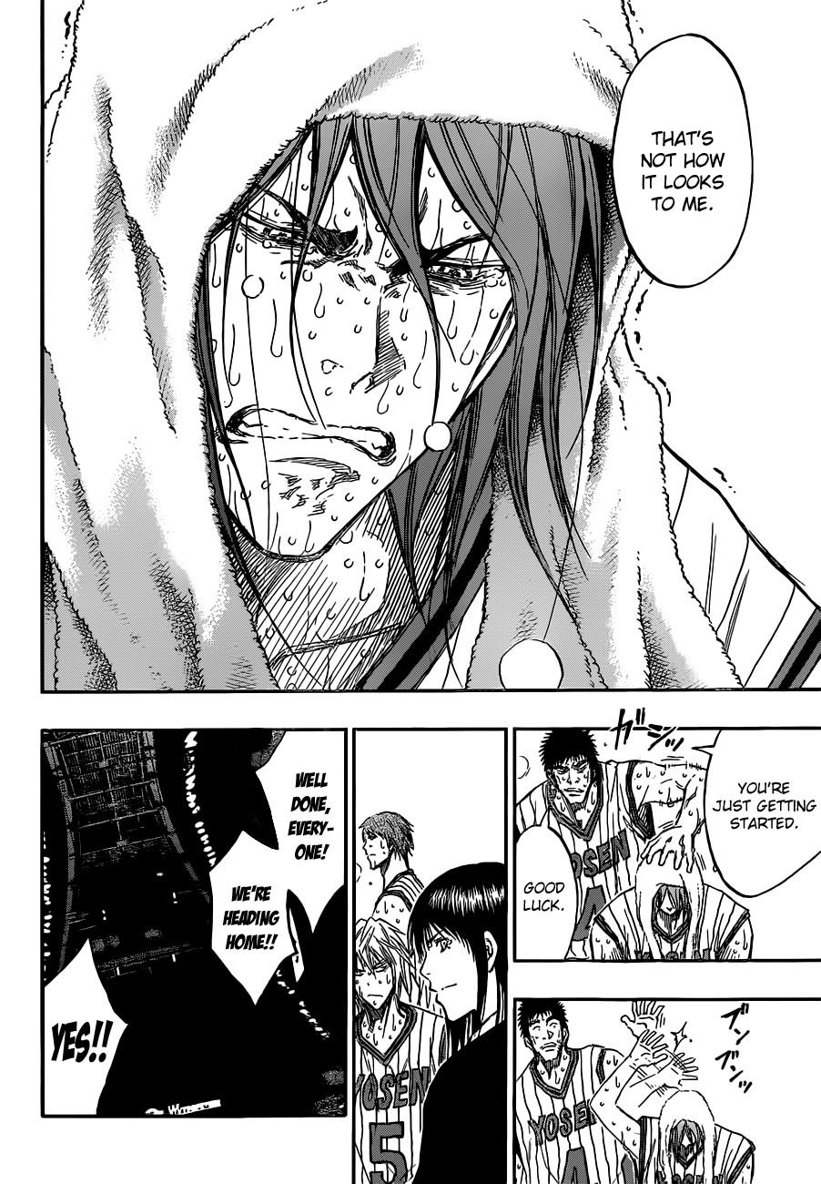 Kuroko no Basket Manga Chapter 169 - Image 10