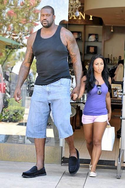 Parakseno.gr : shaq tall girlfriend short Το πιο αταίριαστο ζευγάρι!! (pic)