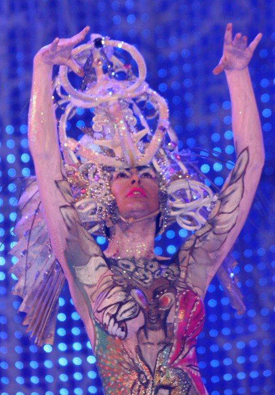 Concurso maquillaje corporal 2011 Carnaval Las Palmas de Gran Canaria