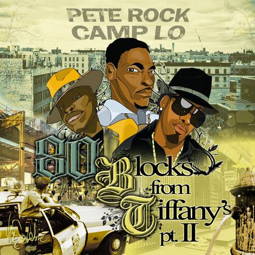 Cover of Pete Rock - 80 Blocks From Tiffany's Pt 2 Mixtape English Mp3 Songs Free Download Listen Online at Alldownloads4u.Com