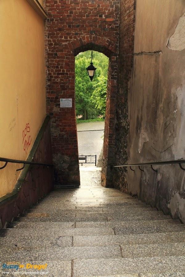 Sandomierz nad Wisłą - furta dominikańska