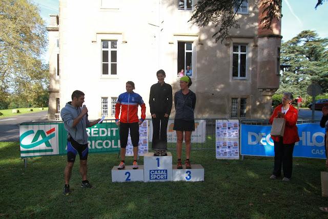 Trail du rampaillou podium