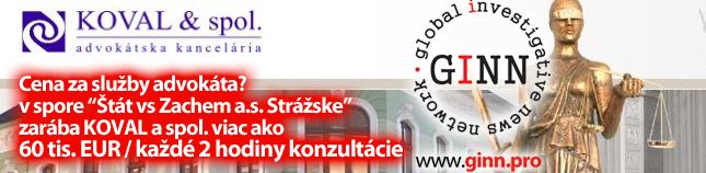 Advokátska kancelária KOVAL a spol. s r.o. zarába 60tis EUR/úkon