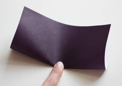 Dobre o papel
