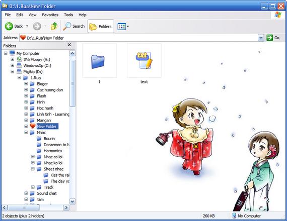 Hướng dẫn thay đổi Icon, ảnh nền cho Folder