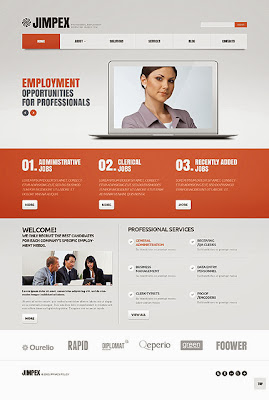 Employment Recruiting Search Firm WordPress Theme
