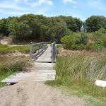 Timber bridge over Pinney's Creek in the Wallarah Pennisula (388175)