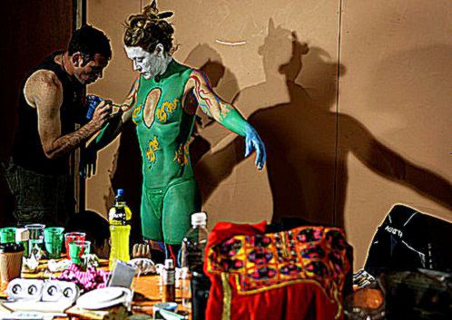 New Zealand Body Art Awards   Pictures   Zimbio
