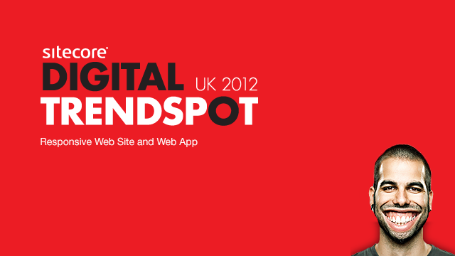 Sitecore Trendspot Responsive Web Site and App