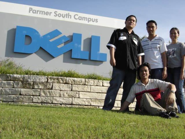 PauTravels with friends at Dell Parmer South Campus in Austin