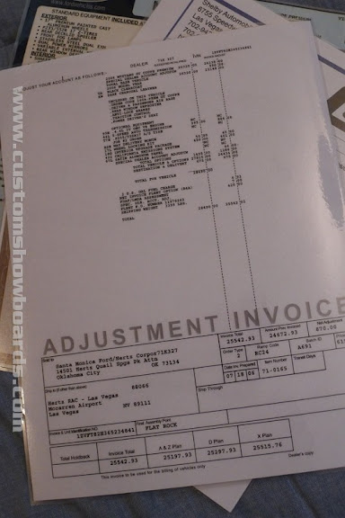 January Shelby GTH - Mustang gt invoice