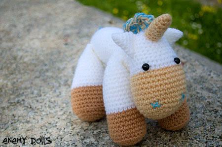Unicornio amigurumi - amigurumi unicorn