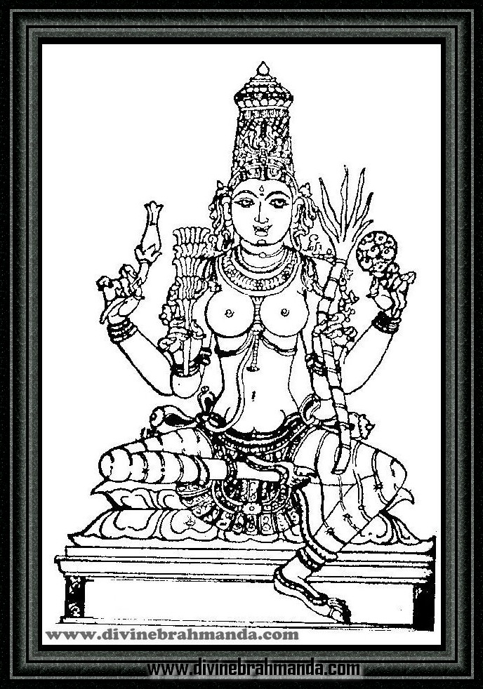 Soundarya Lahari Sloka, Yantra & Goddess For Realization of all Wishes - 08