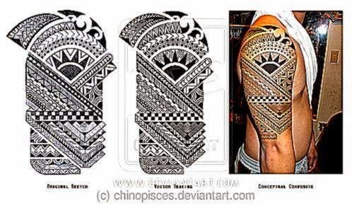 Polynesian Tattoo by chinopisces on DeviantArt