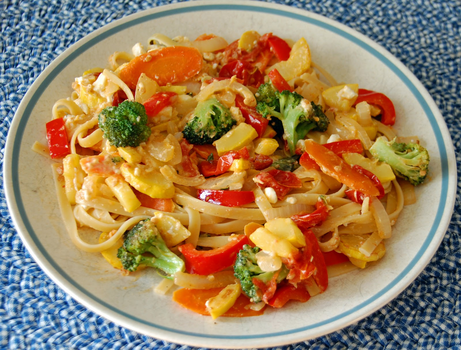 Southern Lady's Recipes: Pasta Primavera