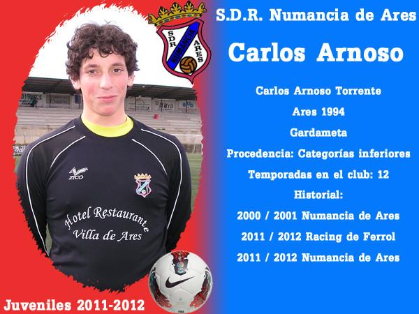 ADR Numancia de Ares. Xuvenís 2011-2012. Carlos Arnoso.