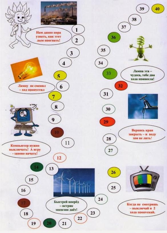 Уроки по энергосбережению