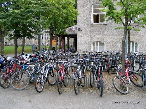 Uniwersytet NTNU - parking rowerowy - rozpoczął się rok akademicki