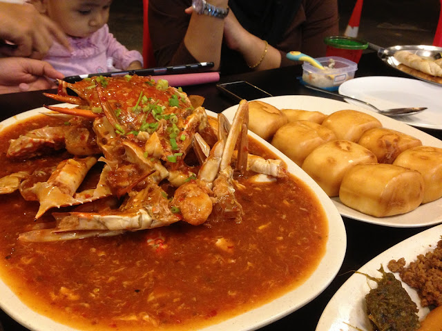 how to make chilli crab bun