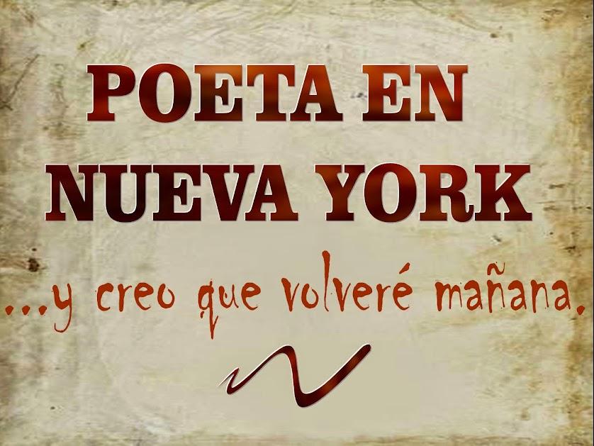 Notas sobre un Bestiario,  En Poeta en Nueva York